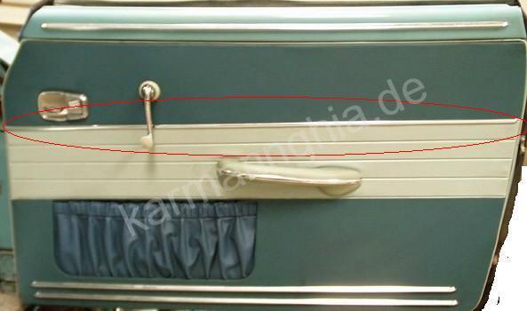 agraphes de fixations baguettes chrome de panneaux de porte 835105141_2